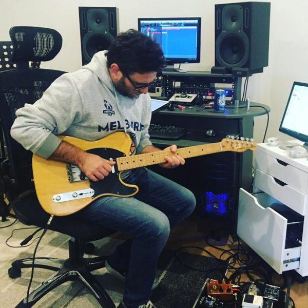 Damian on Guitars